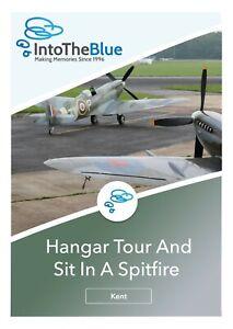 VIP Sit in a Spitfire and Hangar Tour Gift Voucher in Biggin Hill, Kent