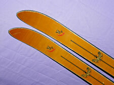 Authier VAMPIRE Swiss-Made 185cm Vintage Alpine SKIS no bindings ManCave Bar P38