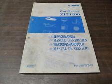 MANUEL REVUE TECHNIQUE ATELIER YAMAHA XLT 1200 WAVERUNNER 2001 SERVICE MANUAL