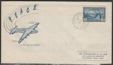 Canada Scott C9 FDC - 1946 Airmail Issue