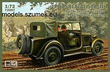 "IBG 72007 Polish Fiat 508 / III ""Łazik"" early version 1/72"