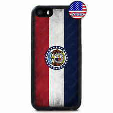 MissouriGrunge State Flag Hard Case Cover For iPhone 11 Pro Max Xs XR 8 Plus 7