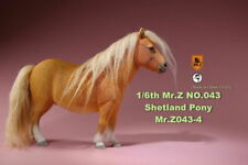 Mr. Z Mrz043-4 1/6 Shetland Pony Horse Animal Figure Accessories Model Toys