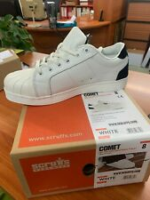 Scruffs Comet White Safety Trainer size 8