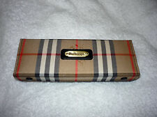 BURBERRY CRIBBAGE CASE NEW CARDS BURBERRYS OF LONDON TRAVEL BLG38/14J BLACK