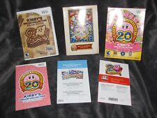 Kirby's Dream Collection Special Edition -Nintendo Wii- Game Soundtrack Book Box