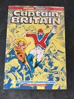 CAPTAIN BRITAIN - BEFORE EXCALIBUR by ALAN DAVIS & JAMIE DELANO ( SCARCE 1988
