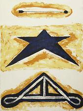 Gerardo DICROLA(1941)Lithographie Giffoni Valle Piana Salerno Biennale DE VENISE