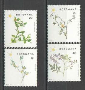 J0192 BOTSWANA FLORA FLOWERS 1SET MNH