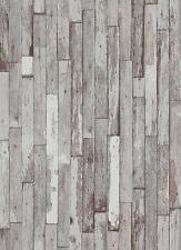 Vlies Tapete Erismann BRIX Unlimited 5937-10 Holz Optik Bretter Weiß Grau Beige