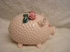 Vintage LEFTON CHINA Hobnail Piggy Bank