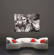 Sweeney Todd Illustration Johnny Depp Helena Bonham Carter Giant Art Poster