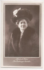 Vintage Postcard Princess Isabella of Croÿ Archduchess Friedrich of Teschen