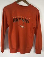 Vintage 70s Champion 50/50 Usa Cleveland Browns orange sweatshirt medium