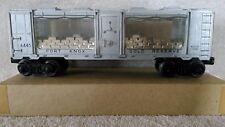 Lionel 1961 Fort Knox Gold Transport Car Bank O Gauge 4 Windows Showing Gold