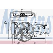 Nissens Lüfter, Motorkühlung Citroen Nemo,. Fiat Fiorino /,Qubo. 85693