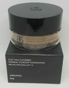 ARBONNE Got You Covered Mineral Powder Foundation Broad Spectrum SPF15, Cocoa.