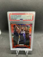 2019-20 Panini Prizm ZION WILLIAMSON #248 Ruby Wave PSA 10 GEM Mint Rookie 🔥📈