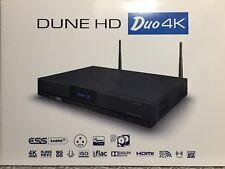 Dune HD DUAL 4K * SIGMA DESIGNS SMP8758 4Kp30 HDR HI-END MEDIA PLAYER ESS9018K2M