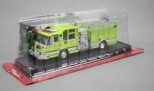 DIECAST METAL 1:64 FIRE TRUCK MODEL USA 1997 PIERCE QUANTUM PUMPER