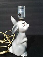 Vintage Disney ? Thumper Bambi Lamp Bunny Rabbit Light WORKS!
