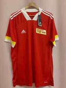 1. FC UNION BERLIN 2020/2021 HOME FOOTBALL SHIRT JERSEY SIZE XL [FR2719] ADIDAS