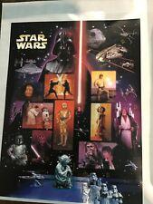 #4143 Star Wars! 41c Pane of 15; No Faults;  CV $15.00