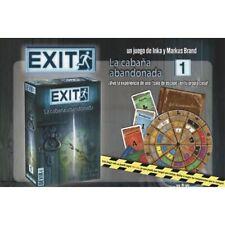 Exit 1 La Cabaña Abandonada - Juego de Mesa