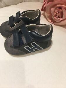Baby Hogan Navy Sneakers Size 19