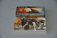 PS3 Sony Playstation 3 Transformers Fall of Cybertron with Manual  (2012)