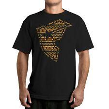 FAMOUS STARS & STRAPS Only Built BOH Black T-Shirt S NEW