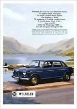 WOLSELEY 18/85 18-85 LAND CRAB RETRO A3 POSTER PRINT FROM CLASSIC 60'S ADVERT