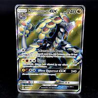 Kommo-o GX - SM Guardians Rising - Full Art Holo Ultra Rare Pokemon Card