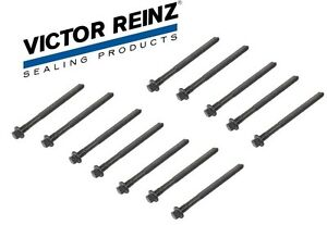 12-Head Bolts Victor Reinz Engine Cylinder Head Bolts Set For Volvo
