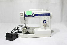 Janome Model 110 Electric Sewing Machine With Foot Pedal Zig Zag