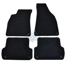 4 CARPET FLOOR AUDI A4 8E B6 B7 2000-2007 S4 RS4 S LINE MAT BLACK SPECIFIC