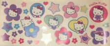 HELLO KITTY wall stickers 32 big decals nursery Sanrio cat kitty stars flowers