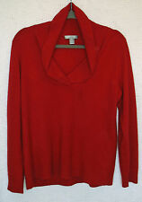 Cashmere by Charter Club 2 Ply 100% Cashmere Long Sleeve Cowl Nk Sweater Size XL