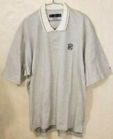 Mens Nike Golf NFL Golf Polo Shirt Size 2XL/XXL Gray