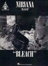 Nirvana Bleach sheet music songbook