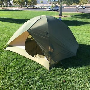 Eureka Backcountry 4 person, 3 season Tent with Rainfly and Aluminum Poles