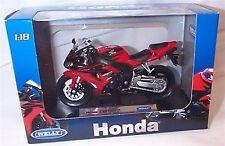 Honda CBR1000RR Black and Red  1-18 Scale  Mib