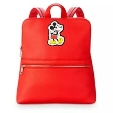 Disney Store Mickey Mouse Red Fashion Backpack Purse Tote Purse Brand New