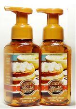 2 Bath & Body Works COZY VANILLA CREAM   Gentle Foaming Hand Soap