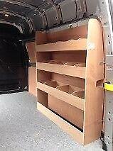 Transit Custom Van Storage Accessories Racking Ply Shelving LWB