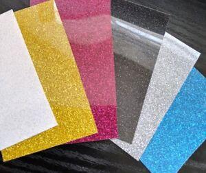 """Iron on vinyl :Glitter vinyl, plain colours """" Scarp Pack"""""""