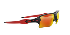 Oakley OO9188-918880-59 Polished Black Frame/Prizm Ruby Lenses Men's Sunglasses