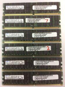 Samsung 6x4GB 2Rx4 PC2-5300P Server Memory RAM.