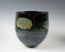 John Lewis Moonscape Art Glass Vase