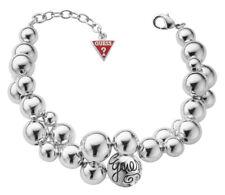GUESS Bracelet chaîne de main ubb70208 - couleur argent avec petites perles